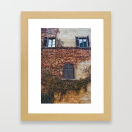 portals .:. room with a view Framed Art Print