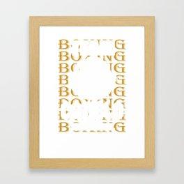 Canelo Boxing Framed Art Print