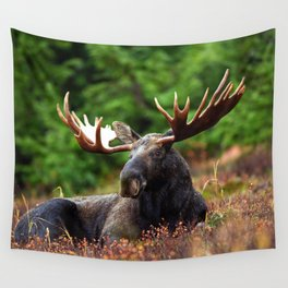 Relax Moose Wall Tapestry