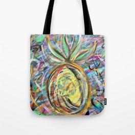 Miami Pineapple Tote Bag
