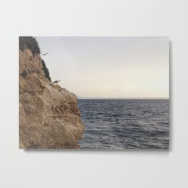 Bird's Sea View, Mallorca, Spain Metal Print