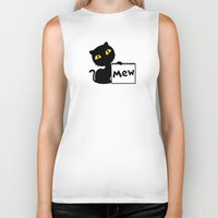 mew Biker Tanks featuring Mew by Tem's House