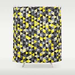 when life gives you concrete, make lemons Shower Curtain