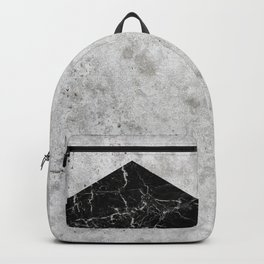 Concrete Arrow - Black Granite #844 Backpack