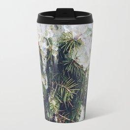Tree in ice Travel Mug
