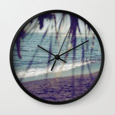 Turquoise Bliss Wall Clock