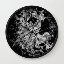 mexico map Wall Clock