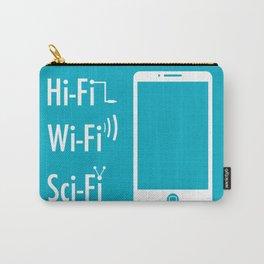 Hi Fi Wi Fi Sci Fi Carry-All Pouch