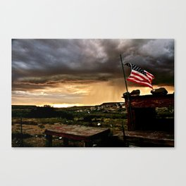 """""""And Our Flag Was Still There..."""" Canvas Print"""