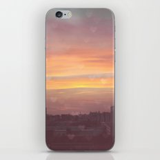 Sunset in the City iPhone & iPod Skin