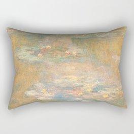 Water Lilies Claude Monet 1908 Rectangular Pillow