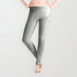 delicate butterflies and textured chevron pattern Leggings
