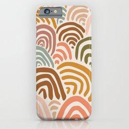 Rainbow Dreams - Vintage iPhone Case