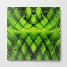 woven plant Metal Print