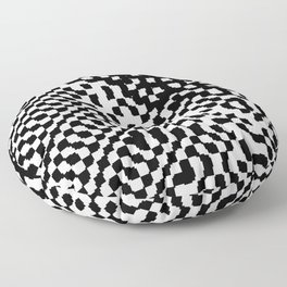 noisy pattern 12 Floor Pillow