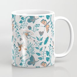 Insects and Moths Frolicking in the Day Coffee Mug
