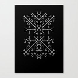 Geometric Tree of Life Canvas Print