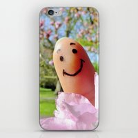 selfie iPhone & iPod Skins featuring Selfie by Before Your Very Eyes