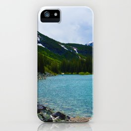 Geraldine Lakes Hike in Jasper National Park, Canada iPhone Case