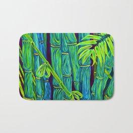 ʻOhe Polū - Blue Bamboo Bath Mat