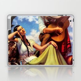 Love and Spanish Guitar under Sonoran Desert Skies by Jesus Helguera Laptop & iPad Skin