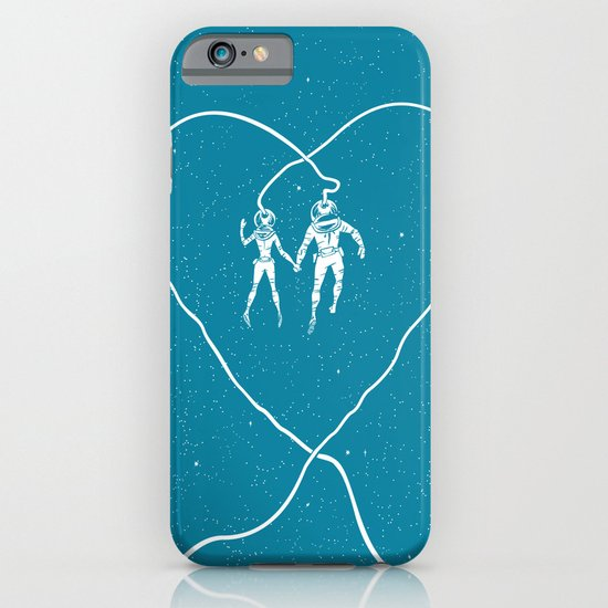 Love Space, Blue iPhone & iPod Case