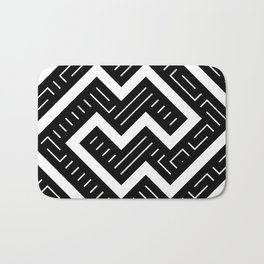 Artis 2.0, No.8 in Black & Gold Bath Mat