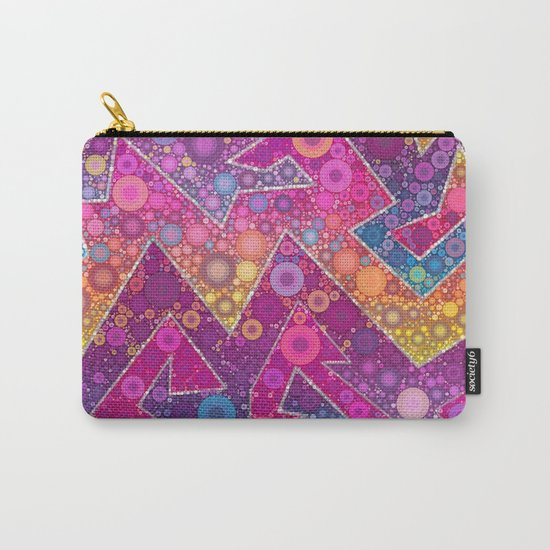 Rave Bubbles At Sunrise Carry-All Pouch