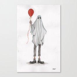 """""""Ghost Clown"""" Canvas Print"""