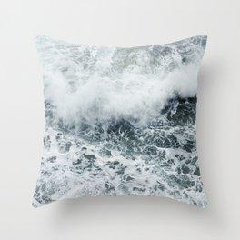 Crashing Throw Pillow