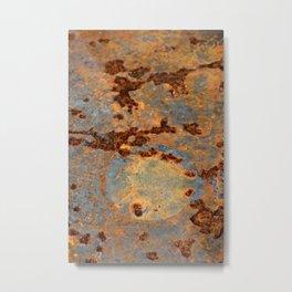Rusted Reefs Metal Print