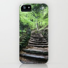Stairway To Spring - Letchworth iPhone Case