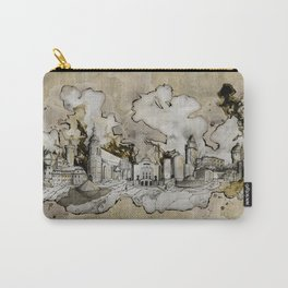 Cottbus Monument Skyline Illustration by carographic, Carolyn Mielke Carry-All Pouch