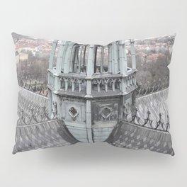 Prague Castle Roof Detail Pillow Sham
