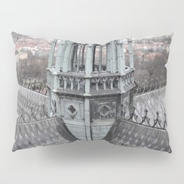 Prague Castle Roof Detail Pillow Sham
