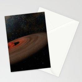 Hubble Space Telescope - Binary system 2M J044144 (artist's impression) Stationery Cards