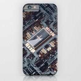 in reverse iPhone Case