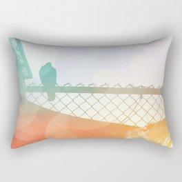 Ragged Beauty Rectangular Pillow