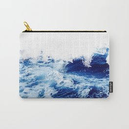 Blue sea water #society6 Carry-All Pouch