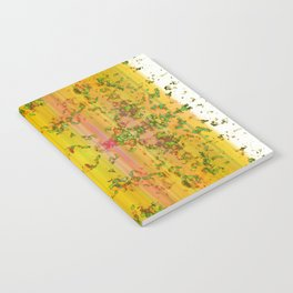 fresh stylized garden Notebook