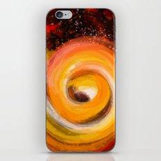 Sun burst in the galaxy iPhone & iPod Skin