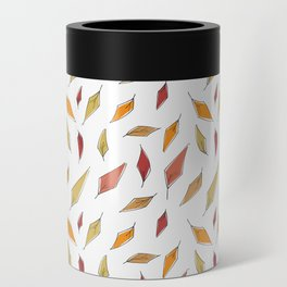 Autumn Leaves Pattern Can Cooler