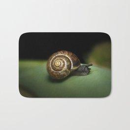 Garden snail Bath Mat