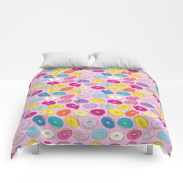 Donuts Pink Dreams Comforters