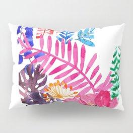 Wild at Heart · Botanical · Florals · Ferns · Hand Art · Lefties · Quote Pillow Sham