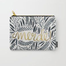 Pardon My French – Black & Gold Carry-All Pouch