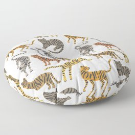 Tiger Collection – Neutral Palette Floor Pillow