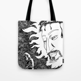 Someone Watching Over Me Tote Bag