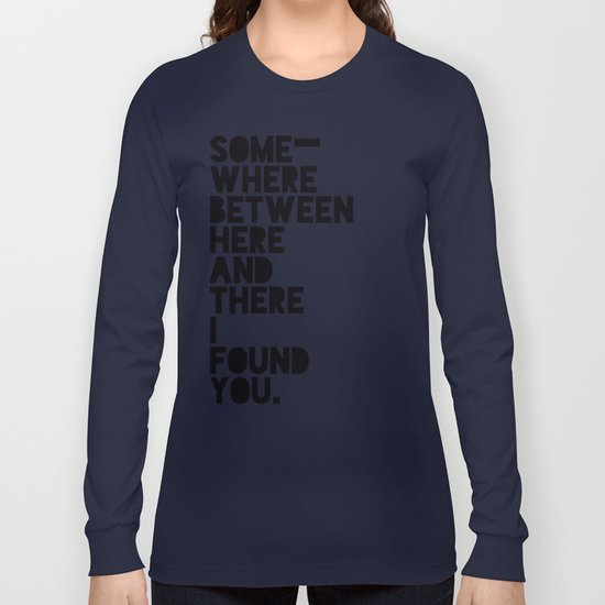 Here & There Long Sleeve T-shirt