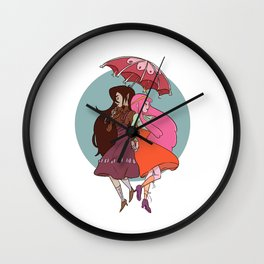 Marcy & PB Wall Clock